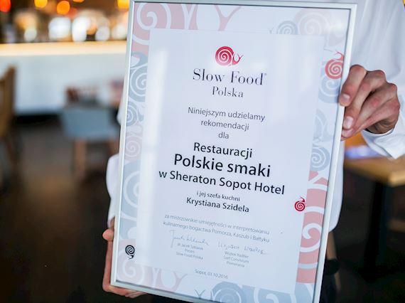 Slow Food Polska sticker